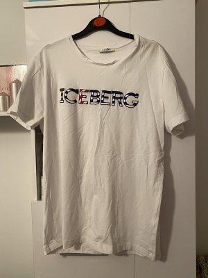 Iceberg T-shirt bianco