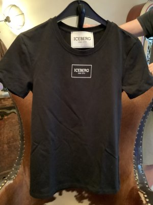 ICEBERG T- Shirt mit Glitzerbunny a.d. Rückseite Gr. M/L
