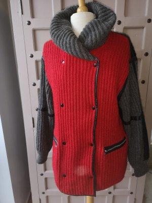 ICEBERG Wool Jacket Mantel Mohair Gr 38