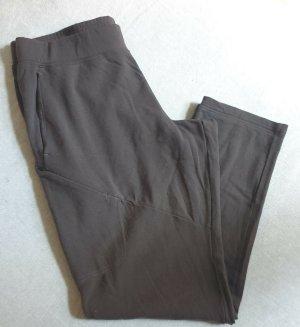Icebreaker Pantalone di lana grigio scuro-grigio Lana