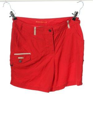 Icepeak High-Waist-Shorts rot Casual-Look