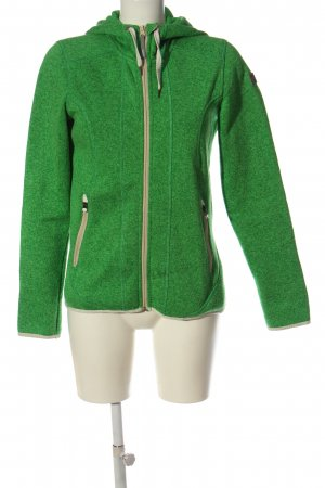 Icepeak Hoody green flecked casual look