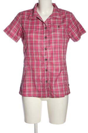 Icepeak Short Sleeve Shirt pink-natural white allover print casual look