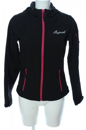 Icepeak Outdoorjacke schwarz Casual-Look