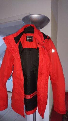 Icepeak Chubasquero rojo