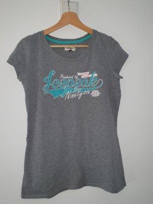 Icepeak Sports Shirt grey-cadet blue