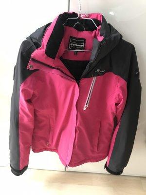 Icepeak Giacca sport nero-rosa
