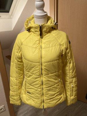 Icepeak Chaqueta acolchada amarillo-amarillo neón