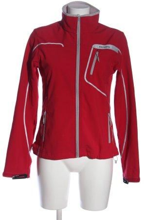 Icepeak Giacca sport rosso-grigio chiaro stile casual