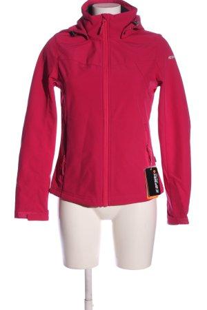Icepeak Sportjacke pink Casual-Look