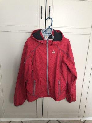 Icepeak Cortaviento rojo frambuesa-magenta