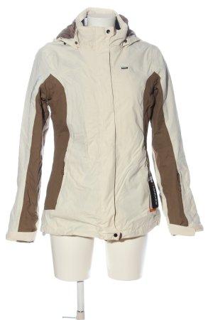 Icepeak Giacca invernale bianco sporco-marrone stile casual