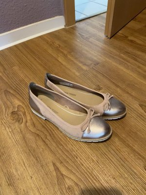 Marco Tozzi Ballerinas with Toecap rose-gold-coloured-pink