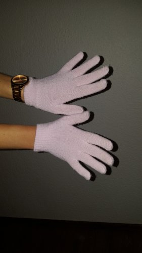 Knitted Gloves light pink