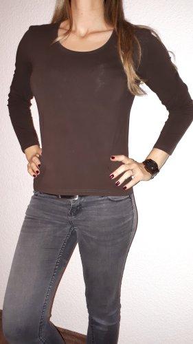 Cecilia Classics Shirt basique brun foncé