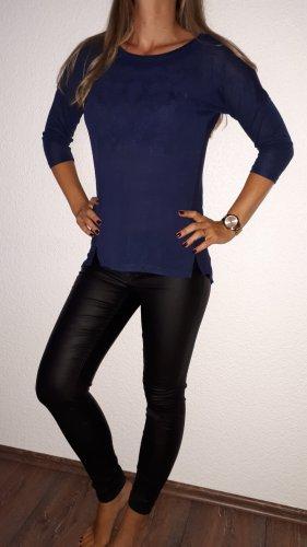 Gina Long Shirt dark blue