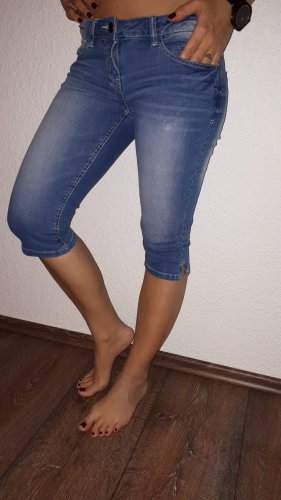 Blue Motion Jeansy 3/4 chabrowy