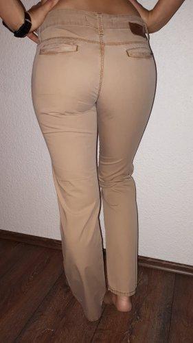 Mavi Workowate jeansy jasnobrązowy