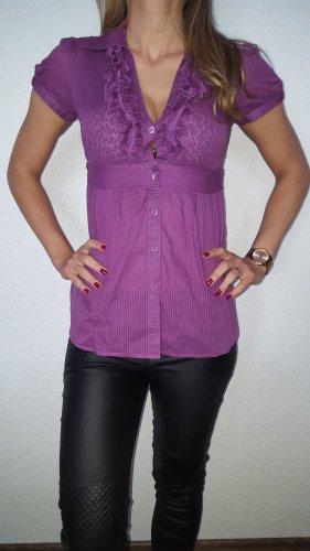 Tally Weijl Blusa larga magenta-púrpura