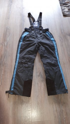 Crane Pantalón de esquí gris-azul aciano