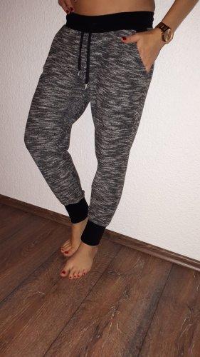Blue Motion Spodnie sportowe czarny-jasnoszary