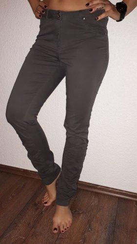 Aniston Stretch broek grijs-bruin