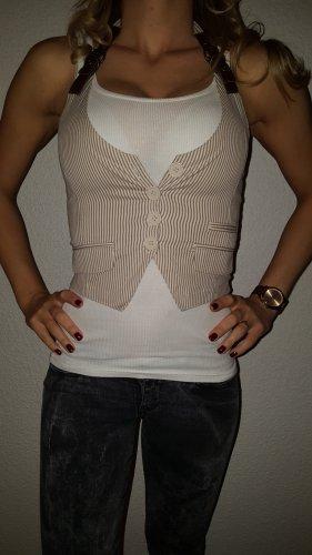 Tally Weijl Smanicato jeans crema-sabbia