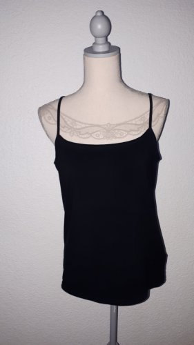 Casa Blanca Basic topje zwart