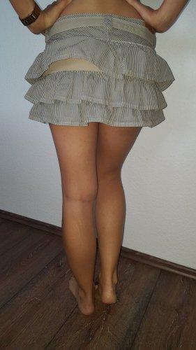 H&M Minigonna beige chiaro-grigio ardesia