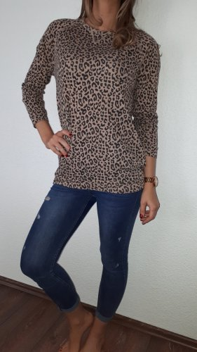 obey Crewneck Sweater black-sand brown