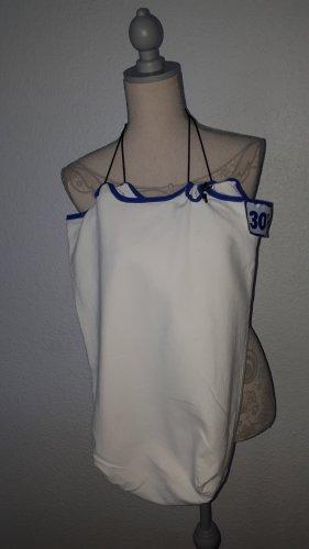 Borsellino crema-blu