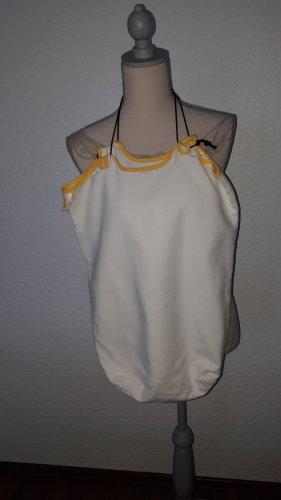 Borsellino crema-giallo