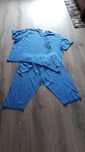 Simone Pyjama bleu acier-bleuet
