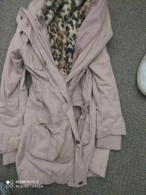 H&M Giacca softshell color oro rosa