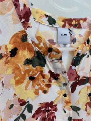 Ichi Maxi abito multicolore Viscosa