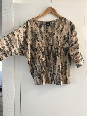 Ichi 3/4 Bluse im coolen Muster!