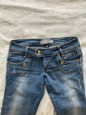 Ichi Jeans vita bassa azzurro