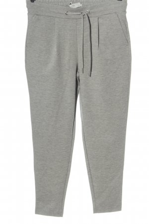 Ichi 7/8 Length Trousers light grey flecked casual look
