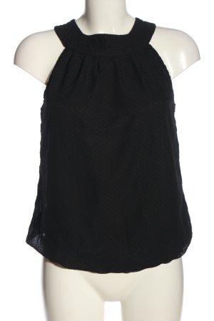 Ichi ärmellose Bluse schwarz Casual-Look