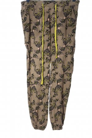 Ichi Baggy Pants allover print casual look