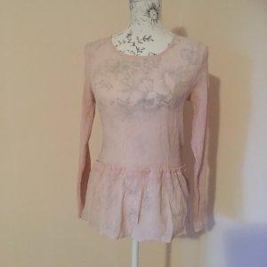 ❤️ICHI❤️ Bluse Gr  36 (32/34) rose Crinkle wNEU