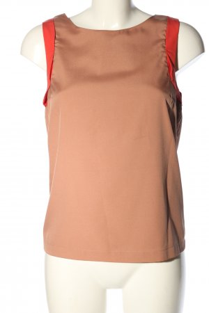 Ichi Blouse topje wolwit-rood casual uitstraling