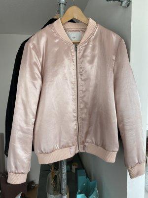 ICHI Bomberjacke rosa glänzend L