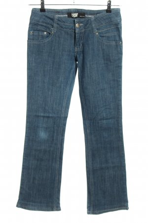 Ichi Boot Cut Jeans blau Casual-Look