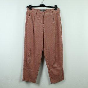 Ichi Corduroy Trousers rose-gold-coloured cotton