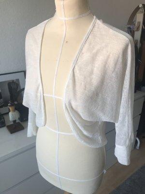 Ichi Cardigan / Bolero Jacke in Weiß