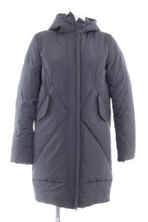 Ichi Down Coat slate-gray casual look