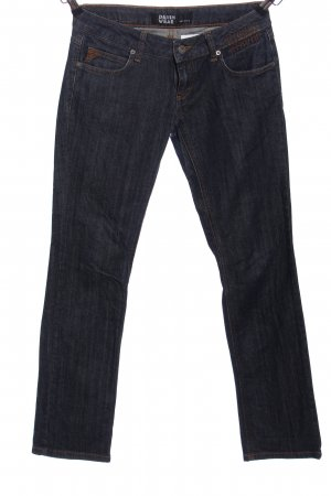 Ichi Straight-Leg Jeans blau Casual-Look