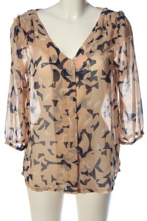 Ichi Hemd-Bluse Allover-Druck Casual-Look