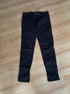 Ichi Jeansy rurki czarny-czarno-brązowy